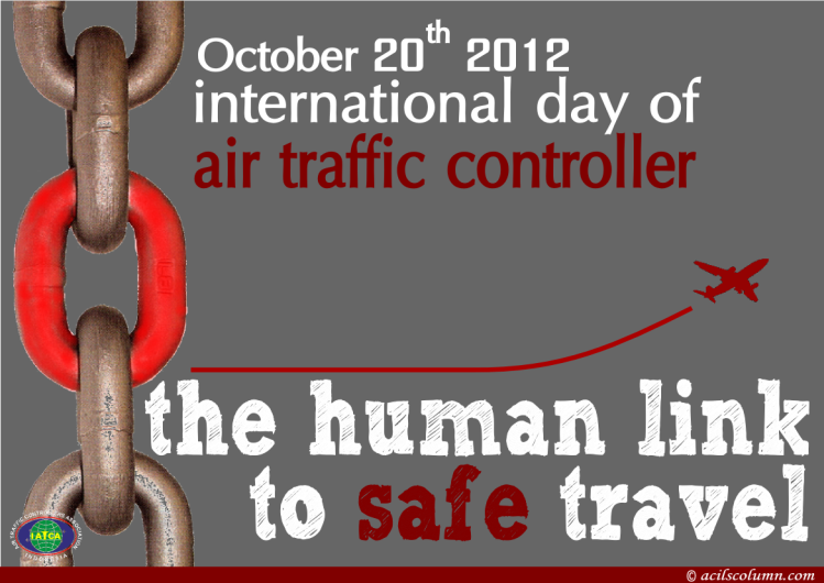 Poster memperingati International ATC Day 2012