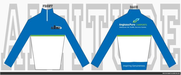 Baju sepeda (jersey) resmi Altitude (klub sepeda MATSC)