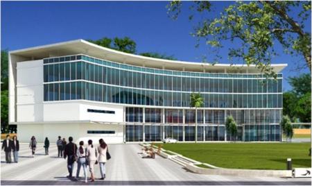 Konsep Gedung PPNPI di Kompleks JAATSC